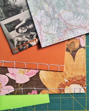 atelier art journal reliure japonaise