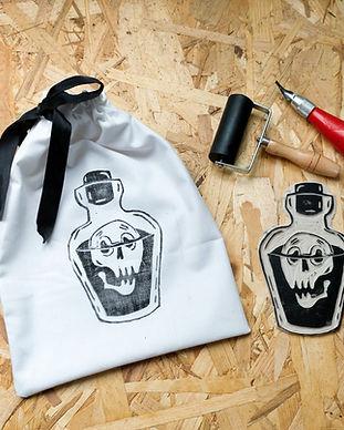 atelier créatif sac à bonbon