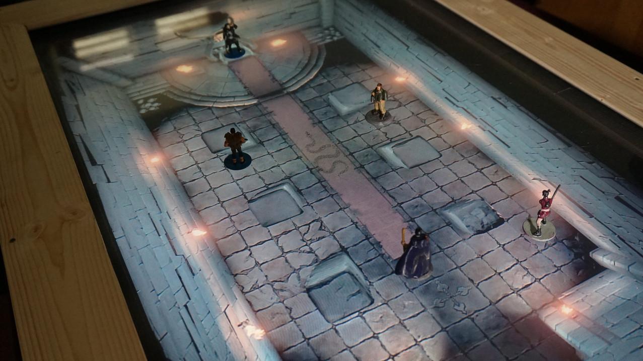 plateau de jeu interactif
