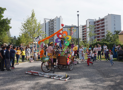 Inauguration jardin de quartier