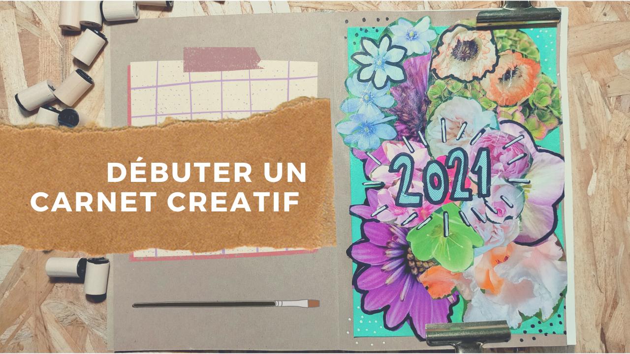 Tuto débuter un journal créatif