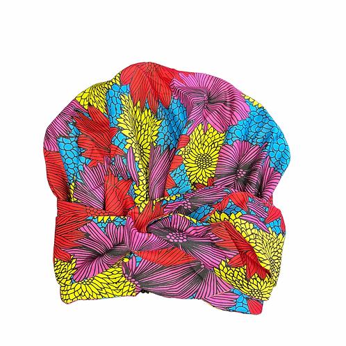 Flowers bomb (wrap bonnet)