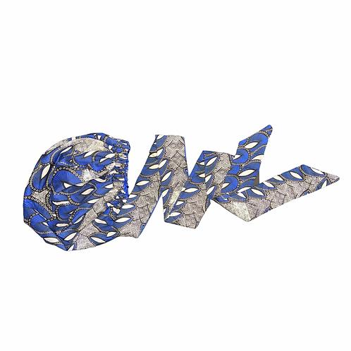 Blue royal ( wrap bonnet)