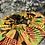 Thumbnail: African inspired satin bonnet(green,red, mustard)