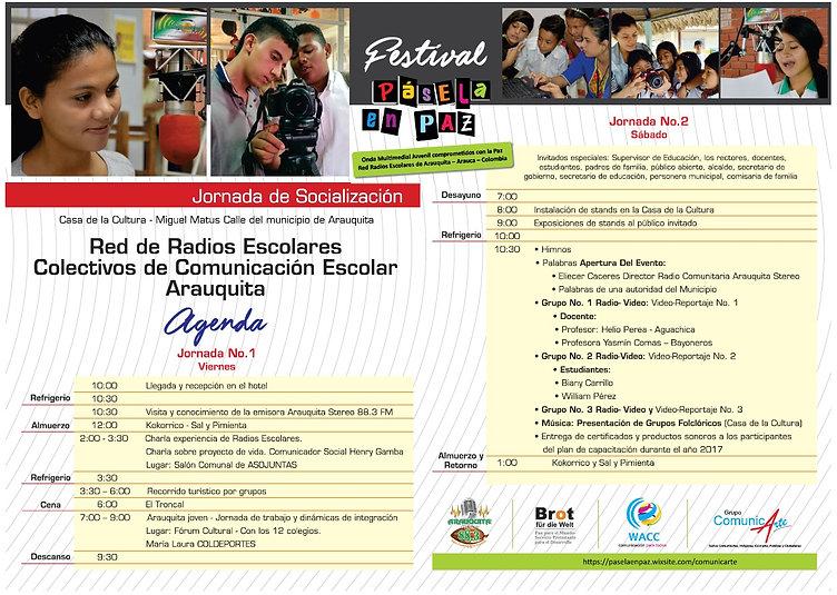 FESTIVAL - PASELA EN PAZ Proyecto Educom