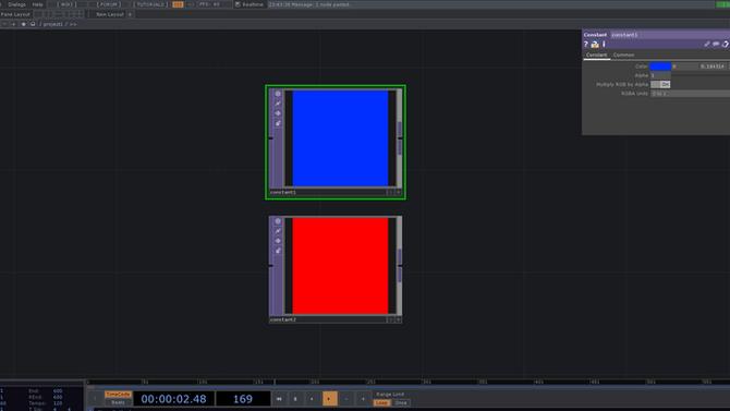 TouchDesigner最初の一歩② CHOPを使う