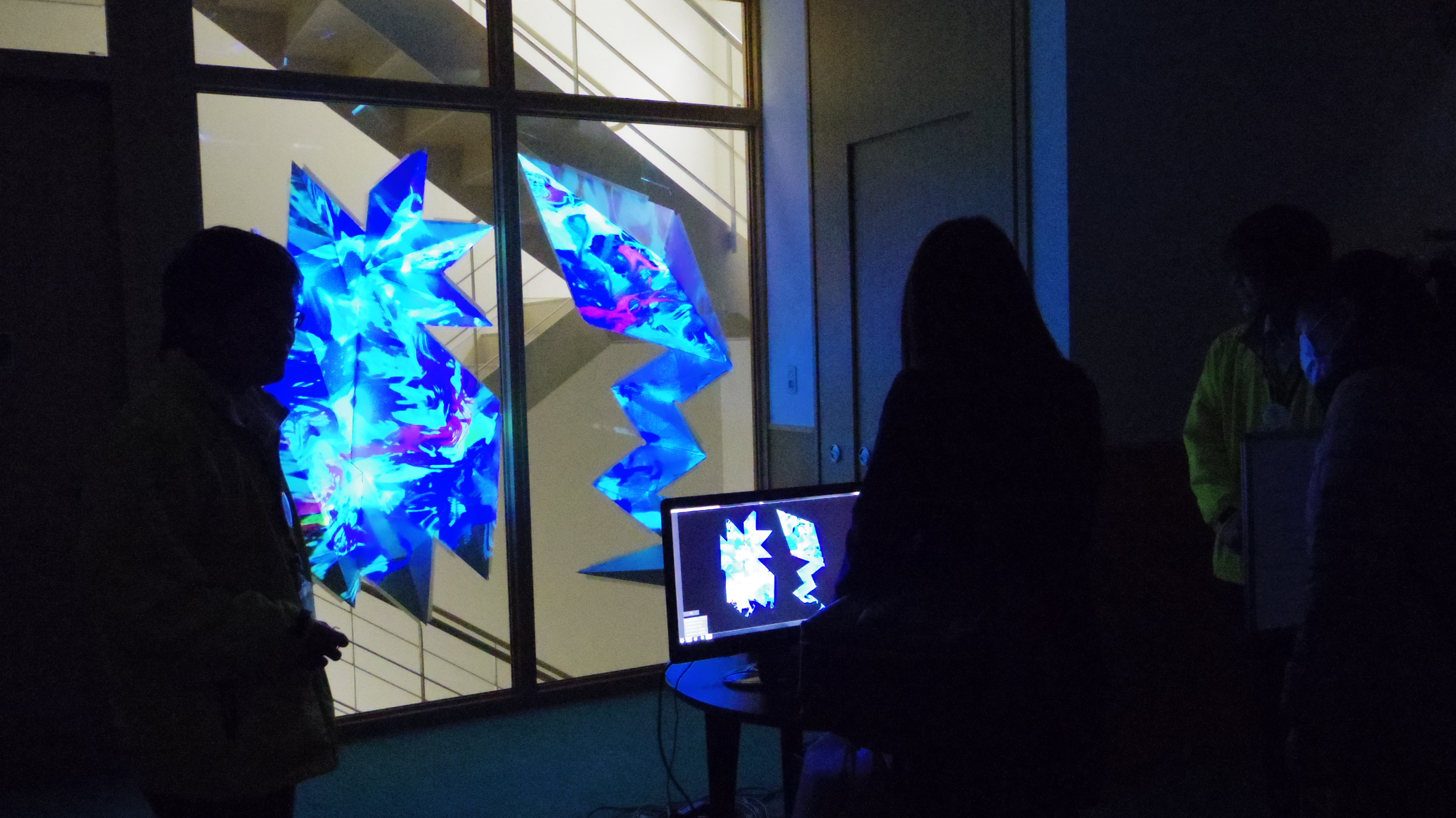 Sound Reactive Projection Mapping