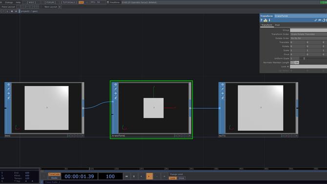 TouchDesigner最初の一歩④ 音でインタラクティブ