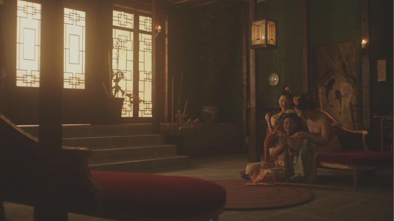Crimson (2018) film still