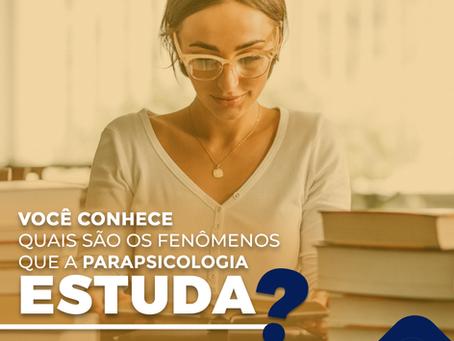 O que a Parapsicologia estuda?