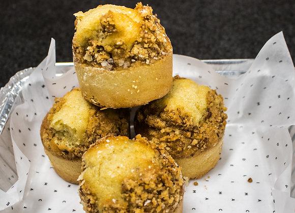 Muffins de Vainilla - 4 unidades