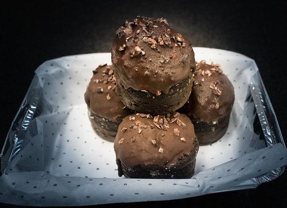 Muffins de Chocolate - 4 unidades