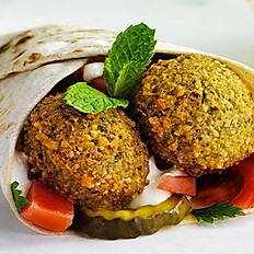 Large Falafel Wrap