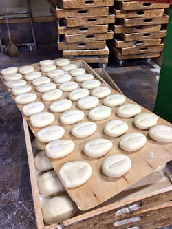 Portuguese Buns in the making