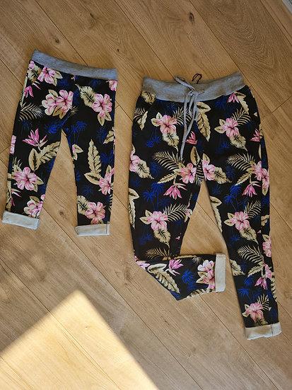 Pantalon fleuri fille