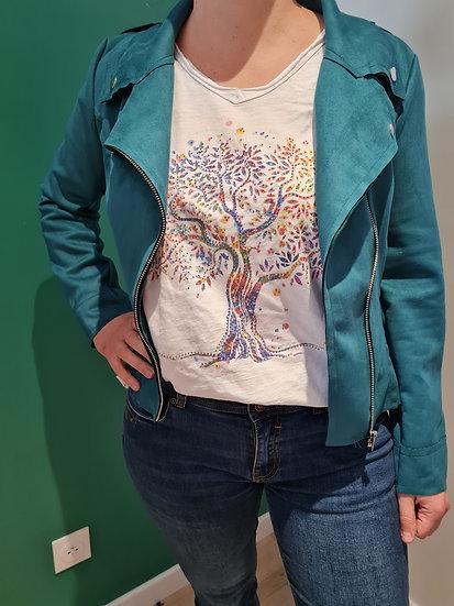 Tee shirt manche courte arbre de vie