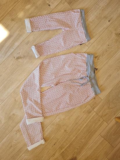 Pantalon rose pâle fille