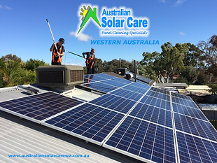 Australian Solar Care Western Australia solar panel cleaning specialists