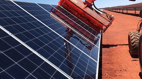 ASM Pty Ltd Solar Farm Cleaning Project Western Australia