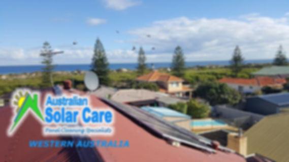 Solar Panel Cleaning Australian Solar Care Western Australia