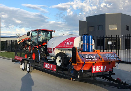 ASM Pty Ltd Custome Transporter Trailr