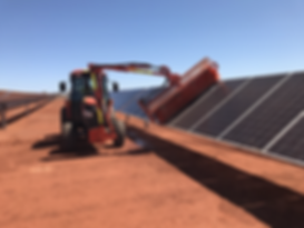 ASM Pty Ltd - Solar Farm Cleanin Project WA