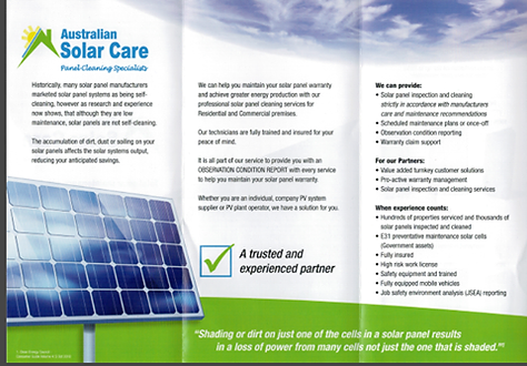 Australian Solar Care solar panel cleaning specialists, Brisbane, Tweed Heads, Palm Beach, Gold Coast and surrounding suburbs