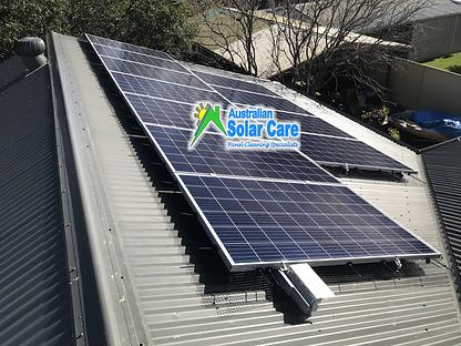 Australian Solar Care - pigeon proofingg
