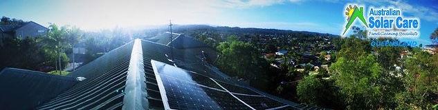 Solar Panel Cleaning Australian Solar Care Queensland