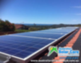 Australian Solar Care Queensland, Gold Coast solar panel cleaning