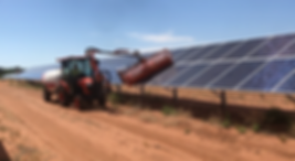 ASM Pty Ltd Solar Farm Cleaning Vehicle SHEILA