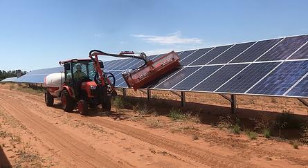 ASM Pty Ltd Solar Farm Cleaning Vehicle SHEILA