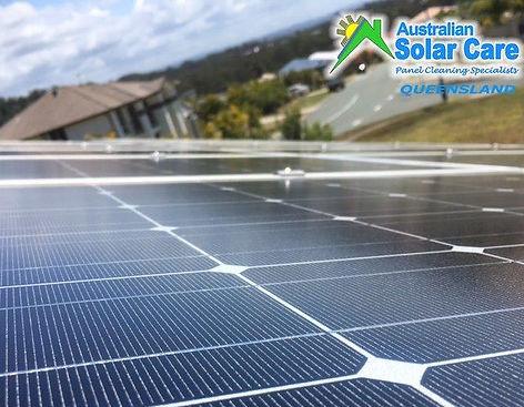 Australian Solar Care Queensland, Rain does not wash your solar panels