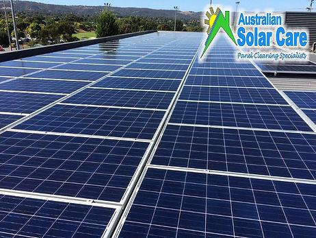 Australian Solar Care Western Australia solar panel cleaning