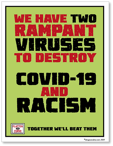 Two viruses COVID-19 & Racism