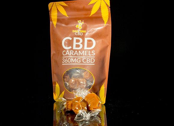 beeZbee CBD Caramels - 30mg CBD