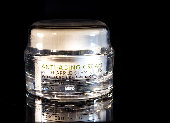 Derma Thereal - Anti Aging Cream - 1oz jar - 20mg CBD