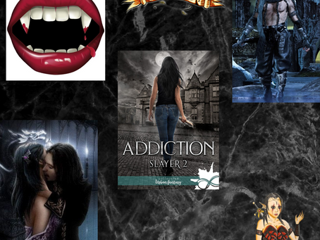 Slayer ~ Tome 2 : Addiction écrit par F.V Estyer