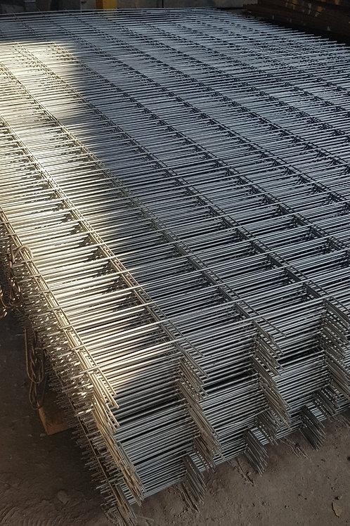 Malla galvanizada 3G9 1.85x5 mts