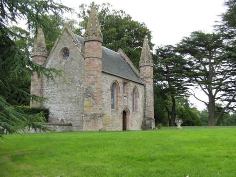 Scone Castle chapel