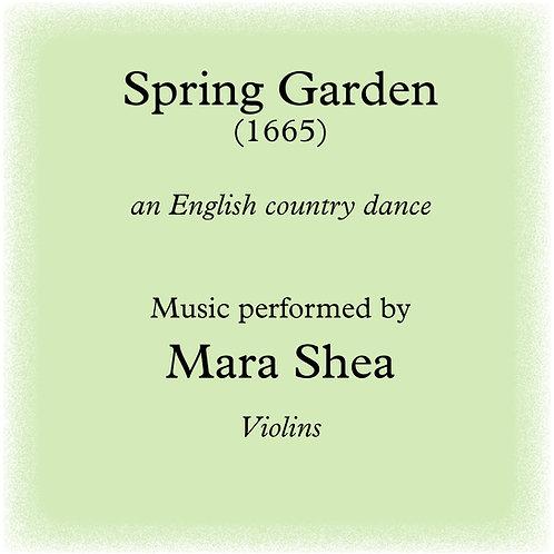Spring Garden - an English country dance