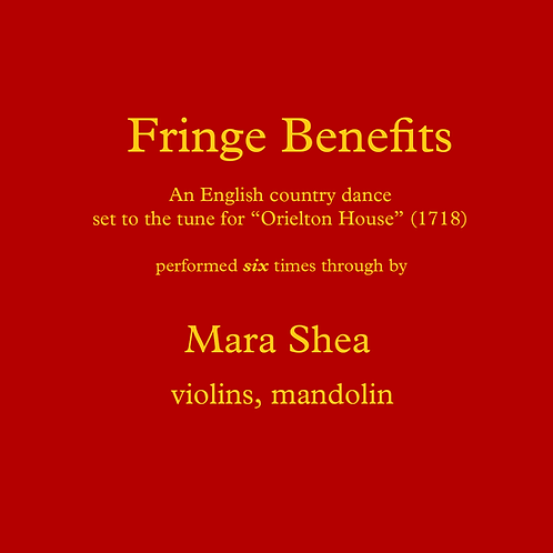 Fringe Benefits - an English country dance tune