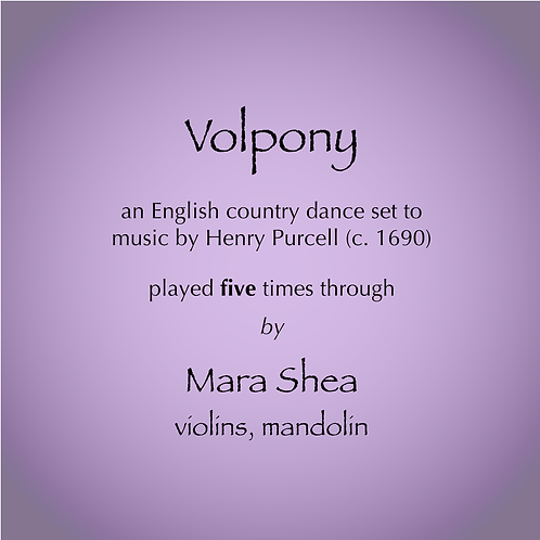 Volpony - An English Country Dance