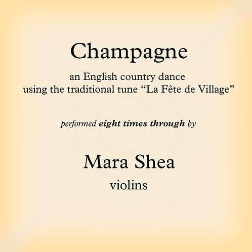 Champagne (La Fête de Village) - an English country dance