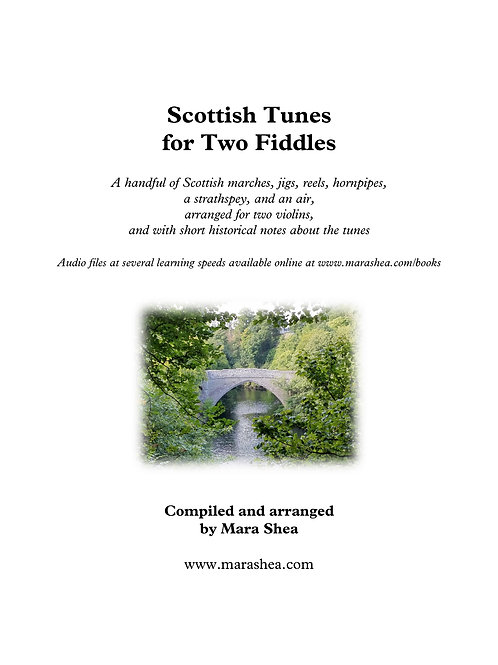 Scottish Tunes for Two Fiddles