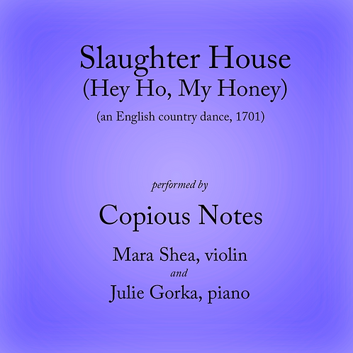 Slaughter House - an English country dance