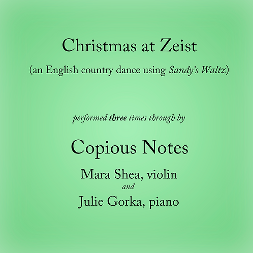 Christmas at Zeist - an English country dance (3 times)