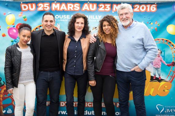 Emmanuel Fricero, Florence Bouvrot, Patrick Préjean - Photo : Jean-José Caddy