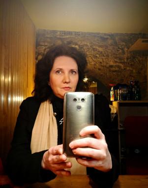 Florence Bouvrot - Tournage de Cour des Artistes au Palais des Glaces de Paris
