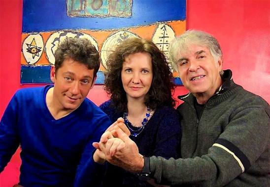 Florence Bouvrot, Grégoire Colard & David Bacci - Cour des Artistes - Photo : Joel Menuel